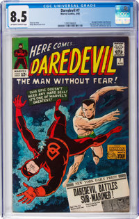 Daredevil #7 (Marvel, 1965) CGC VF+ 8.5 Off-white to white pages