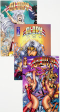 Modern Age (1980-Present):Superhero, Glory #10-12 Long Box Group (Image, 1996) Condition: AverageNM-....