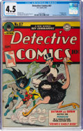 Golden Age (1938-1955):Superhero, Detective Comics #67 (DC, 1942) CGC VG+ 4.5 Off-white to white pages....