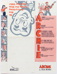 Archie Comic Strip Promotional Brochure (King Features, 1973)
