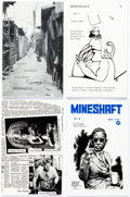 Magazines:Underground, Robert Crumb, Frank Stack, and Others Mineshaft Comics-and-Poetry Anthology, #1-#17 First Edition Group of 18 (Ran... (Total: 18 Items)