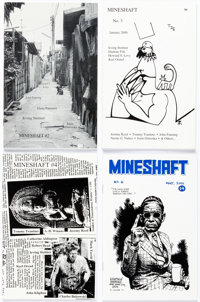Robert Crumb, Frank Stack, and Others Mineshaft Comics-and-Poetry Anthology, #1-#17 First Edition Group of 18 (Ran... (T...
