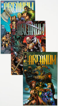 Arcanum/Deathblow Long Box Group (Image, 1993-98) Condition: Average NM-