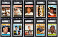 Baseball Cards:Sets, 1964 Topps Baseball Complete Set (587)....