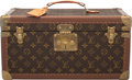 """Luxury Accessories:Travel/Trunks, Louis Vuitton Brown Monogram Coated Canvas """"Boite Bouteilles & Glace"""" Top Handle Trunk. Condition: 3. 16"""" Width x 8"""" H..."""