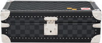 Louis Vuitton Damier Graphite Coated Canvas Personalized Sailing Flag Watch Box Condition: 2 13.5