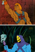 Animation Art:Production Cel, He-Man and the Masters of the Universe Animation Cels andAnimation Drawings Group of 7 (Filmation, 2002).. ... (Total: 7Items)