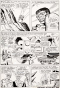 Original Comic Art:Panel Pages, Jack Kirby and Mike Esposito Tales to Astonish #75 Story Page 3 Hulk Original Art (Marvel, 1966)....