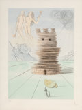 Prints & Multiples:Print, Salvador Dalí (1904-1989). Simon, from Twelve Tribes of Israel, 1972. Etching in colors on BFK Rives paper. 25-3/4 x...