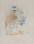 Prints & Multiples:Contemporary, Salvador Dalí (1904-1989). La Pagode, from The Hippies, 1969. Etching with aquatint on Japon paper. 26 x 20-1/8 inch...