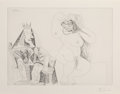 Prints & Multiples:Print, Pablo Picasso (1881-1973). Series 156:143, 1971. Etching on wove paper. 14-3/8 x 19-1/2 inches (36.5 x 49.5 cm) (image)...