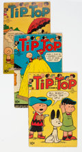 Golden Age (1938-1955):Humor, Tip Top Comics #185, 186, and 188 Group of 4 (United Feature Syndicate, 1954) Condition: Average GD.... (Total: 4 )