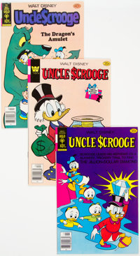 Dell/Gold Key Disney Duck Related Group of 4 (Dell/Gold Key, 1954-78) Condition: Average VF+.... (Total: 4 Comic Books)