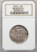 1938 50C Oregon PDS Set MS64 NGC. NGC Census: (0/0). PCGS Population: (0/0). CDN: $540 Whsle. Bid for problem-free NGC/P...