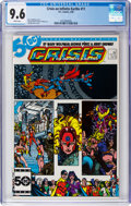 Modern Age (1980-Present):Superhero, Crisis on Infinite Earths #11 (DC, 1986) CGC NM+ 9.6 Whitepages....