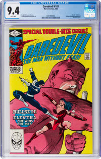 Daredevil #181 (Marvel, 1982) CGC NM 9.4 White pages