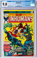 Bronze Age (1970-1979):Superhero, The Inhumans #1 (Marvel, 1975) CGC NM/MT 9.8 White pages....