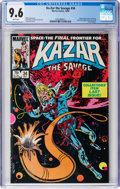 Modern Age (1980-Present):Superhero, Ka-Zar the Savage #34 (Marvel, 1984) CGC NM+ 9.6 White pages....