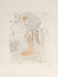 Prints & Multiples:Print, Salvador Dalí (1904-1989). Athena, from The Mythology, 1963. Etching on Arches paper. 30 x 22-1/4 inches (76.2 x 56....