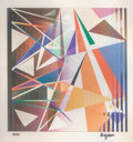 Prints & Multiples:Print, Yaacov Agam (b. 1928). Ancient Battle, c. 1990. Agamograph. 14-1/2 x 14-1/2 inches (36.8 x 36.8 cm). Ed. 84/99. Signed a...