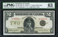 Canadian Currency, Canada Dominion of Canada $2 23.6.1923 DC-26j P...