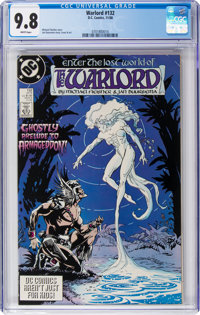 Warlord #132 (DC, 1988) CGC NM/MT 9.8 White pages