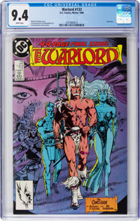 Warlord #133 (DC, 1988) CGC NM 9.4 White pages