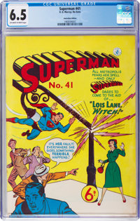 Superman #41 (K. Gordon Murray Productions Inc., No Date) CGC FN+ 6.5 Off-white to white pages