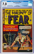 Golden Age (1938-1955):Horror, Haunt of Fear #16 (#2) (EC, 1950) CGC FN/VF 7.0 Off-white pages....