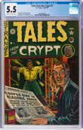 Golden Age (1938-1955):Horror, Tales From the Crypt #21 (EC, 1951) CGC FN- 5.5 Cream to off-whitepages....
