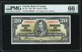 , CADBC-25c PMG Gem Uncirculated 66 EPQ....