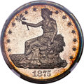 Proof Trade Dollars, 1875 T$1 PR64 Cameo NGC....