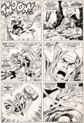 Original Comic Art:Panel Pages, John Buscema and John Verpoorten Thor #200 Page 15 Original Art (Marvel, 1972)....