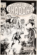 Original Comic Art:Covers, Marie Severin and Frank Giacoia (attributed) Tower of Shadows #3 Cover Original Art (Marvel, 1970)....