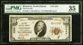 National Bank Notes:North Dakota, Bismarck, ND - $10 1929 Ty. 1 The First NB Ch. # 2434 PMG Choice Very Fine 35.. ...
