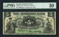 Canadian Currency, Canada, Toronto Dominion Bank $5 3.7.1905 Ch.#220-...