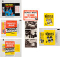 Music Memorabilia:Memorabilia, The Beatles Topps Wrappers and Trading Cards (1964)