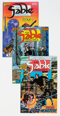Jon Sable Freelance Group of 138 (First Comics, 1983-84) Condition: Average NM-.... (Total: 138 Items)