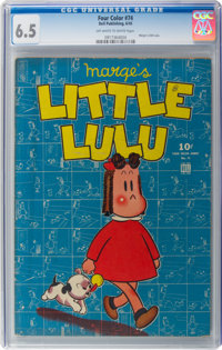 Four Color #74 Little Lulu (Dell, 1945) CGC FN+ 6.5 Off-white to white pages