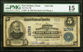 National Bank Notes:Texas, Port Neches, TX - $5 1902 Plain Back Fr. 607 The First NB Ch. # 11799 PMG Choice Fine 15.. ...