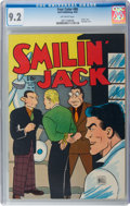 Golden Age (1938-1955):Adventure, Four Color #80 Smilin' Jack (Dell, 1945) CGC NM- 9.2 Off-white pages....