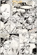 Original Comic Art:Panel Pages, Marc Silvestri and Dan Green Wolverine #50 Story Page 24 (Marvel, 1992)....