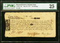 Colonial Notes:Massachusetts, Massachusetts May 25, 1775 10s PMG Very Fine 25.. ...