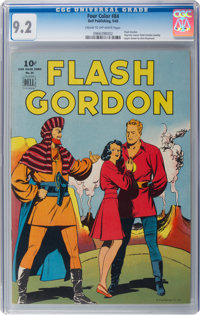 Four Color #84 Flash Gordon (Dell, 1945) CGC NM- 9.2 Cream to off-white pages