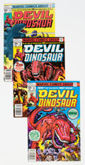Bronze Age (1970-1979):Miscellaneous, Devil Dinosaur #1-9 Complete Run Group (Marvel, 1978) Condition:Average NM-.... (Total: 9 )