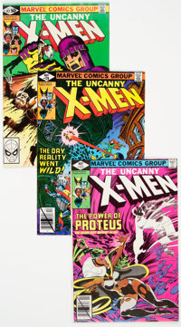X-Men Group of 8 (Marvel, 1979-81) Condition: Average VF/NM.... (Total: 8 Comic Books)