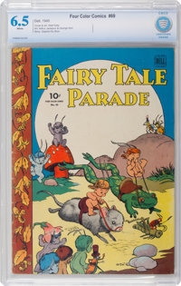 Four Color #69 Fairy Tale Parade (Dell, 1945) CBCS FN+ 6.5 White pages
