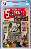 Silver Age (1956-1969):Mystery, Tales of Suspense #35 (Marvel, 1962) CGC VF- 7.5 Off-white pages....