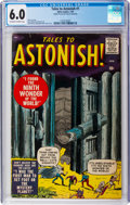 Silver Age (1956-1969):Horror, Tales to Astonish #1 (Marvel, 1959) CGC FN 6.0 Off-white to white pages....