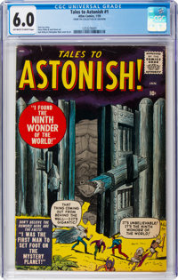 Tales to Astonish #1 (Marvel, 1959) CGC FN 6.0 Off-white to white pages